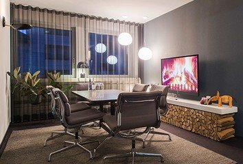 Frankfurt conference rooms Meeting room Design Offices Frankfurt Barckhausstraße - Fireside Room image 0