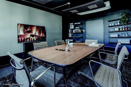 Frankfurt am Main conference rooms Meetingraum Design Offices FFM - Fireside Room image 1
