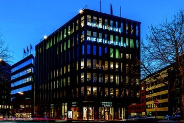 Hamburg conference rooms Salle de réunion Design Offices Hamburg Domplatz - Project Room  3 & 4 image 1