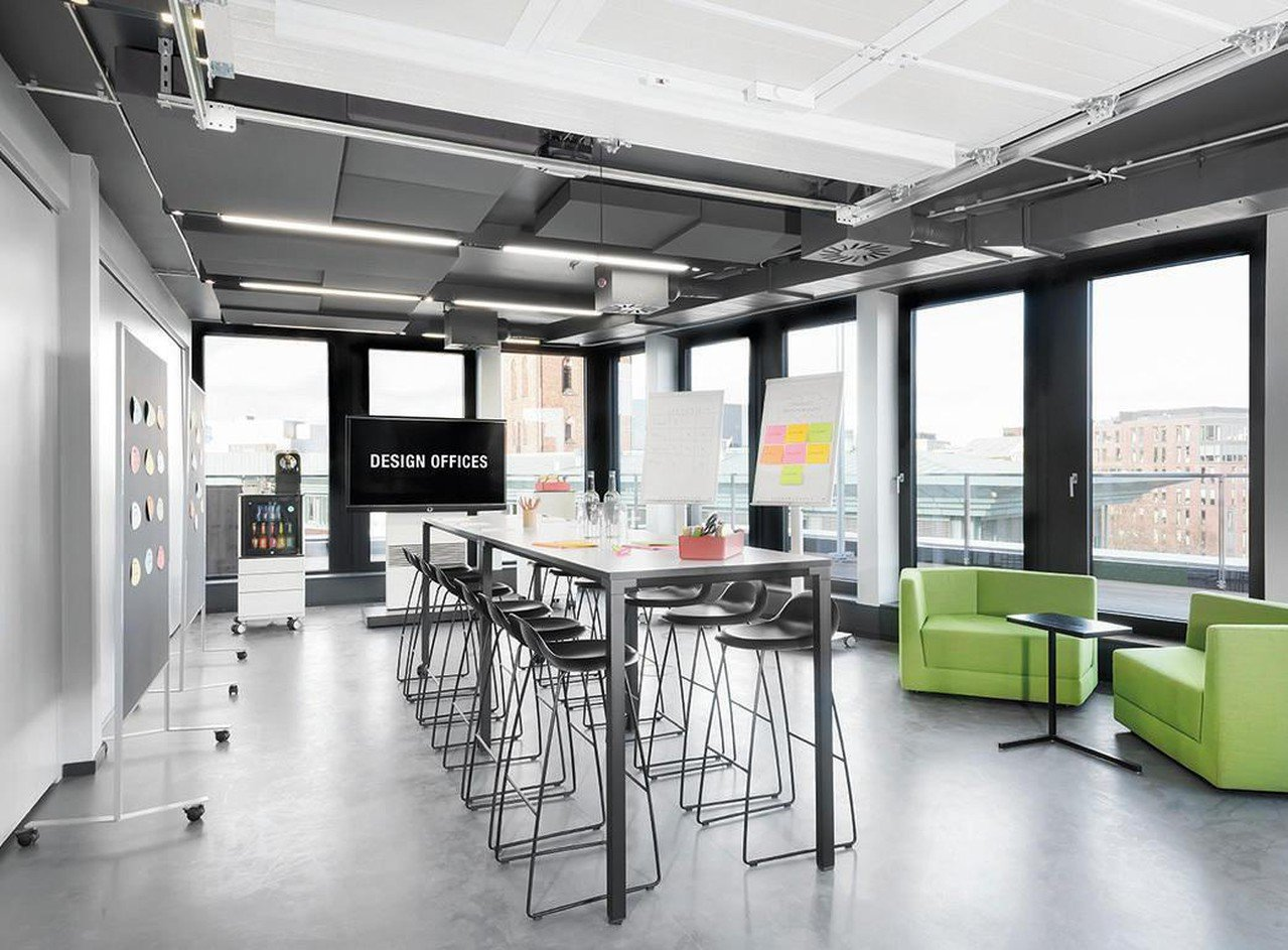 Hamburg Konferenzräume Meetingraum Design Offices Hamburg - Meet & Move Room 1 image 0