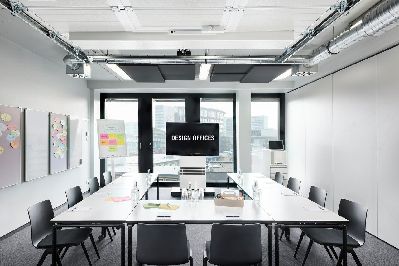 Hamburg Konferenzräume Meetingraum Design Offices Hamburg - Meet & Move Room 1 image 1