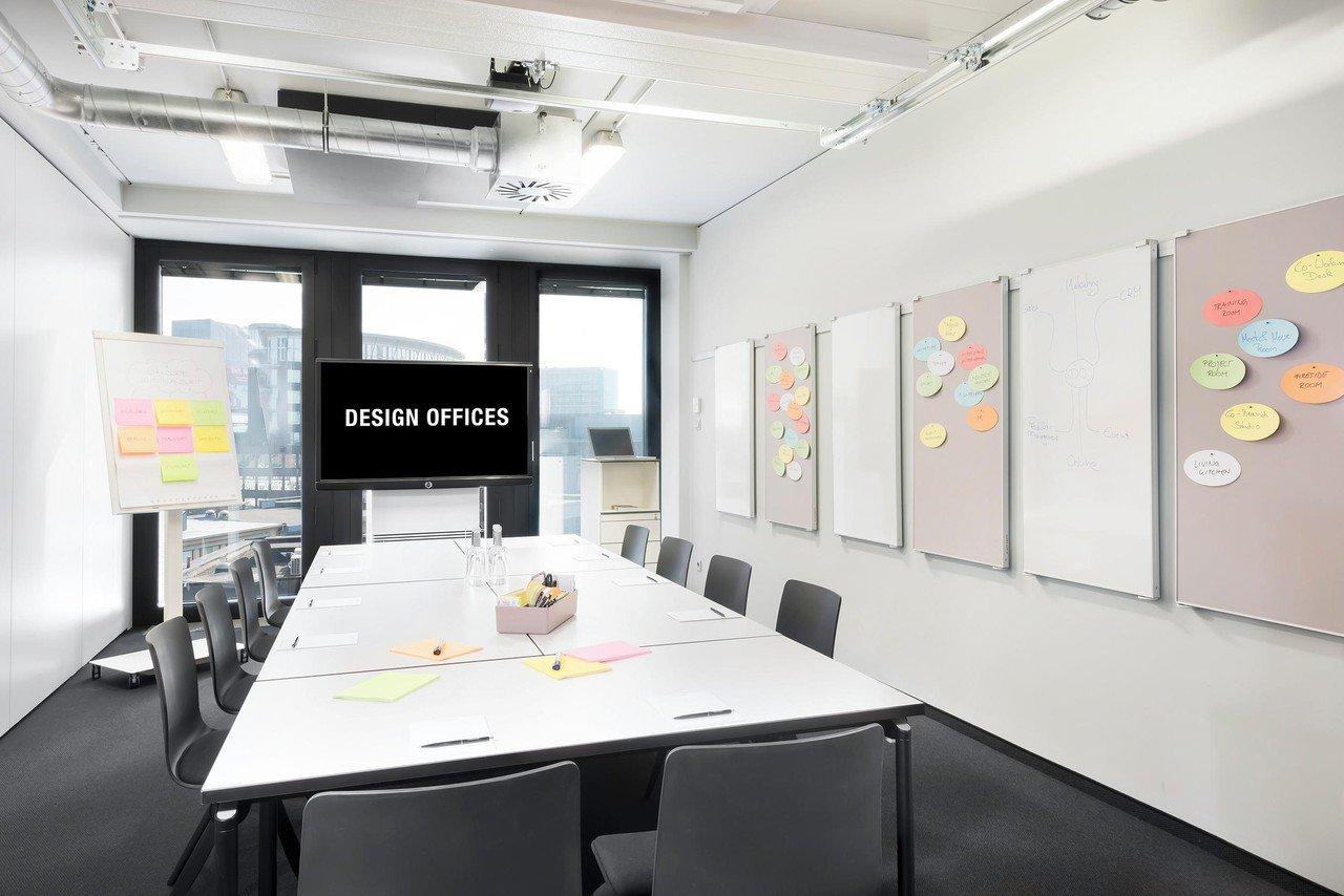 Hamburg Tagungsräume Meetingraum Design Offices Hamburg - Meet & Move Room 2 image 1