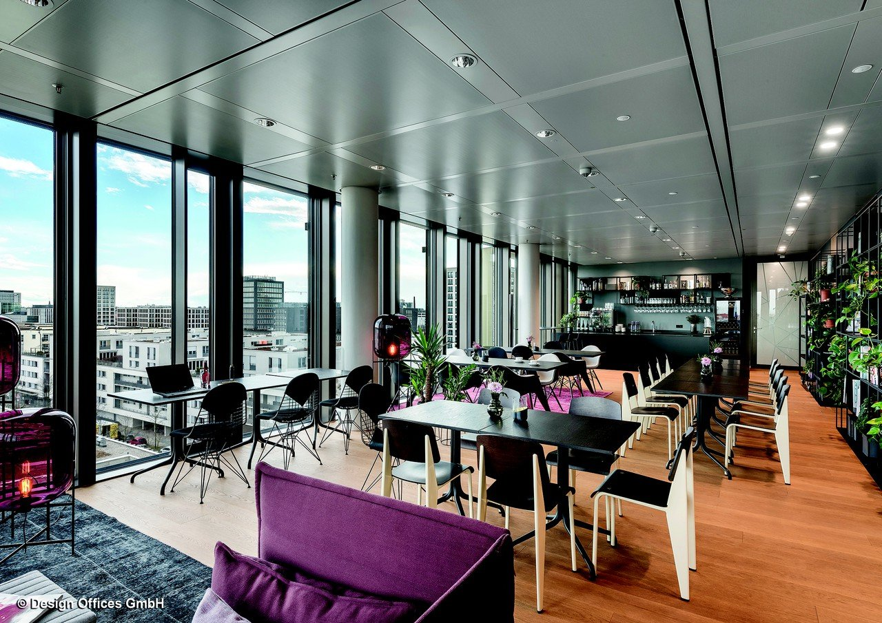 Design offices nove rooftop lounge mieten in munich