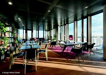 Munich corporate event venues Rooftop Design Offices Nove - Rooftop Lounge image 1