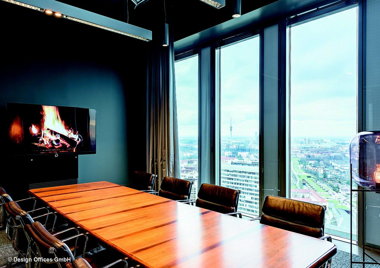 München workshop spaces Meetingraum Design Offices Highlight Towers - Fireside Room 31 image 1