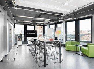 Hamburg Tagungsräume Meetingraum Design Offices Hamburg - Meet & Move Room 1 & 2 image 0