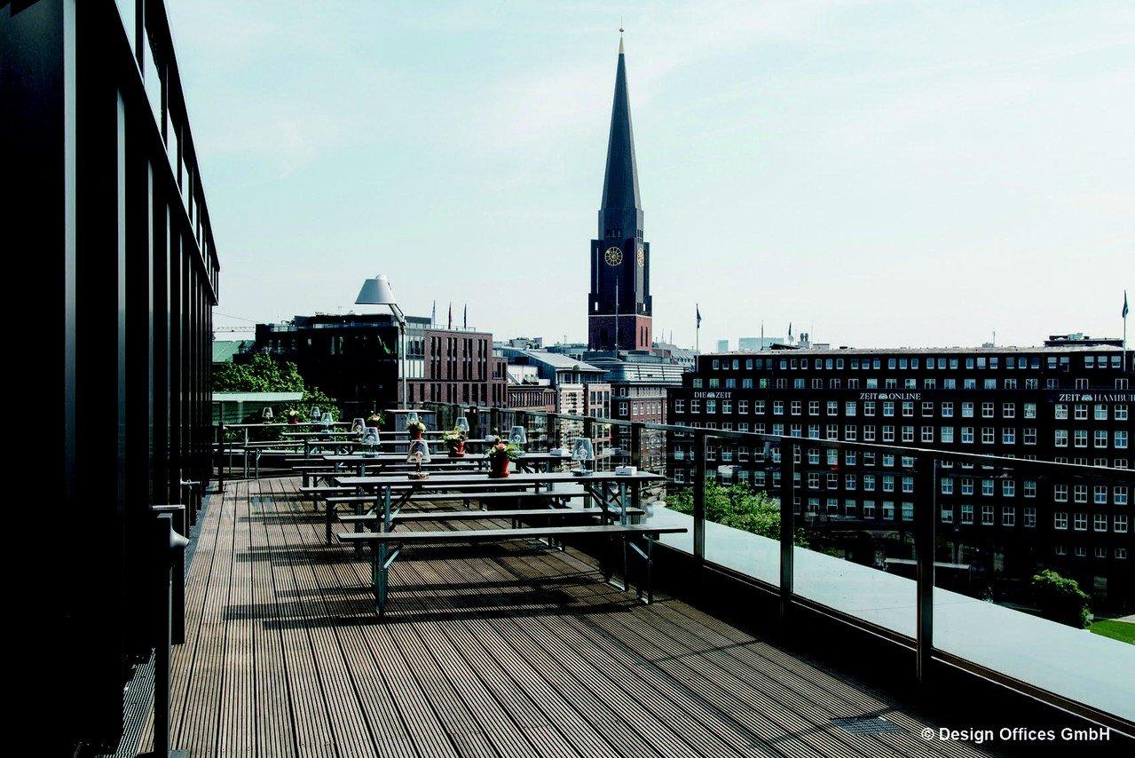 Hamburg Eventräume Terrasse Design Offices Hamburg Domplatz - Dachterrasse image 0