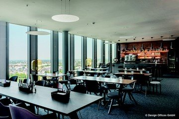Munich corporate event venues Salle de réunion Design Offices Highlight Towers - DO Eatery image 1