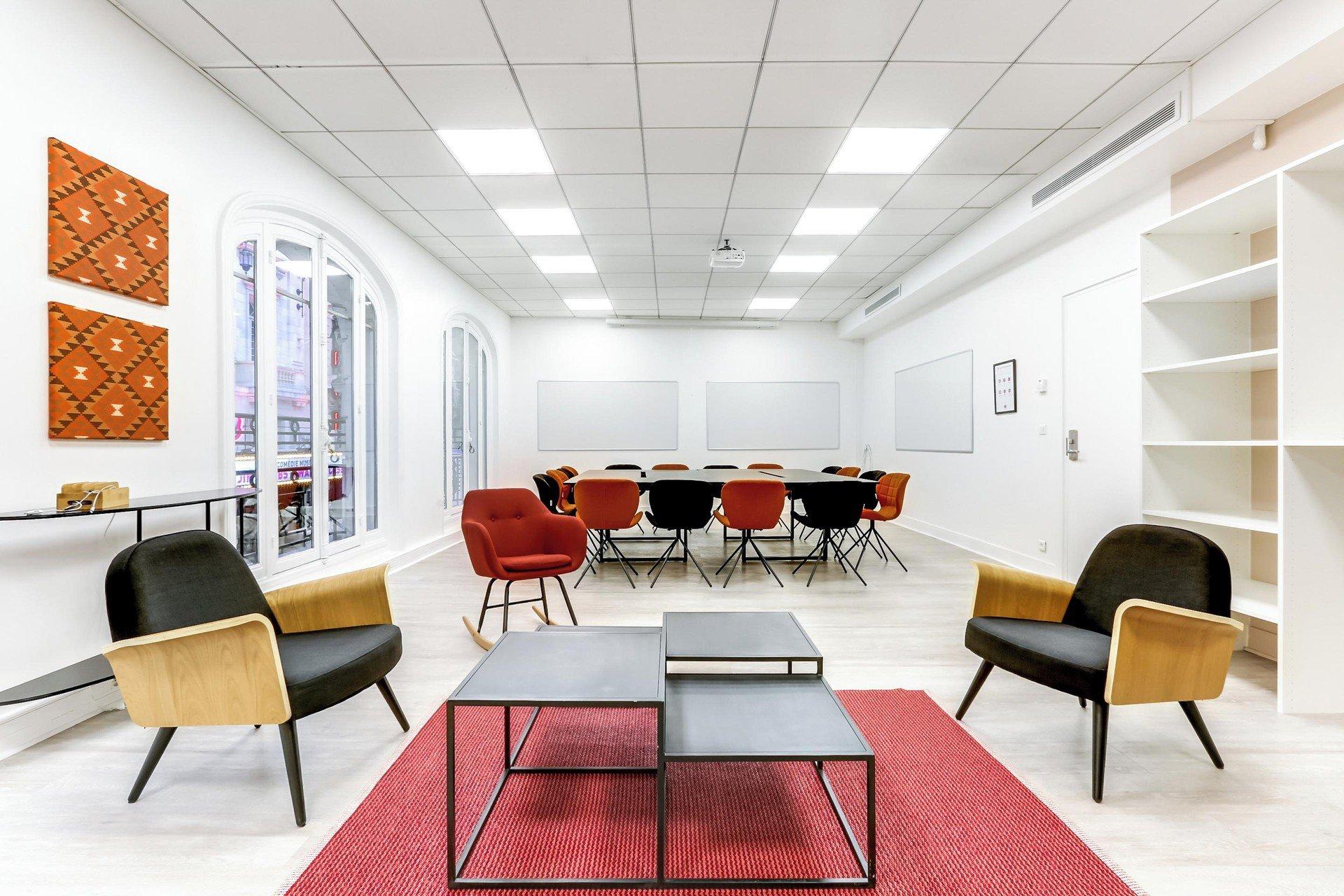 Paris Espaces de travail Meetingraum Mogador _ Lorette image 3