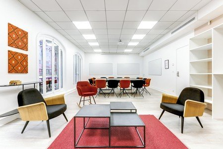 Paris Espaces de travail Salle de réunion Mogador _ Lorette image 3