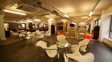 Manchester corporate event venues Coworking Space Ziferblat Edge Street - The Sitting Room image 0