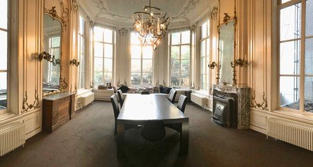 Amsterdam training rooms Meetingraum Herengracht white room image 7