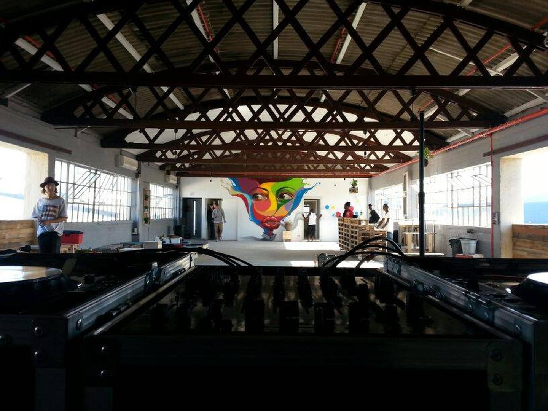 Le Cap workshop spaces Salle de réception ColorBox Studios image 0