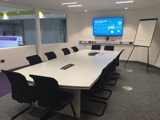 Birmingham workshop spaces Meetingraum iCentrum - Oval Meeting Room image 0