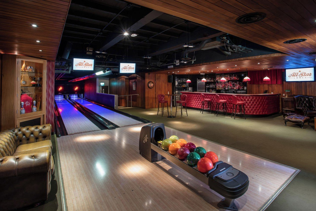 Londres corporate event venues Lieu Atypique All Star Lanes - The Club House - Holborn image 0
