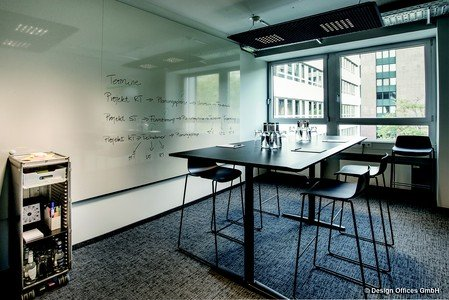 Francfort training rooms Salle de réunion Design Offices Frankfurt Eschborn - Meet & Move Room image 0
