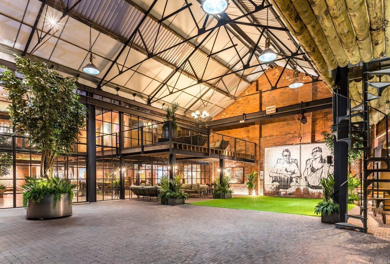 Birmingham corporate event spaces Lieu Atypique The Compound image 0