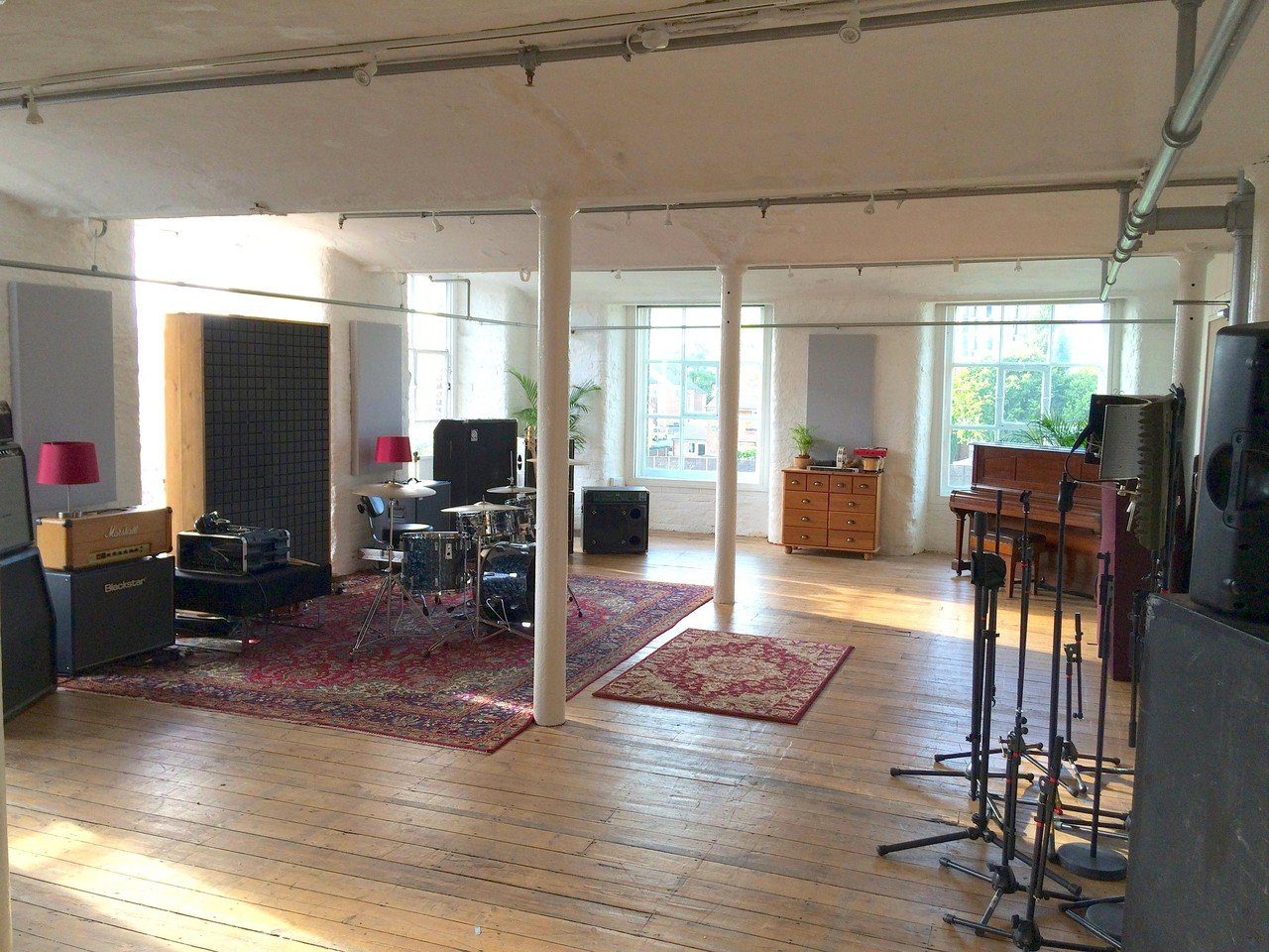 Manchester workshop spaces Unusual Hope Mill Recording Studios image 1