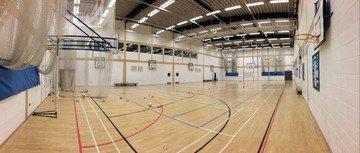 Greenhithe training rooms Besonders The Leigh Academy Sports Hall image 2