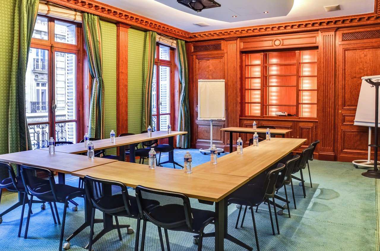 Paris training rooms Meetingraum Hausmann 201 image 1