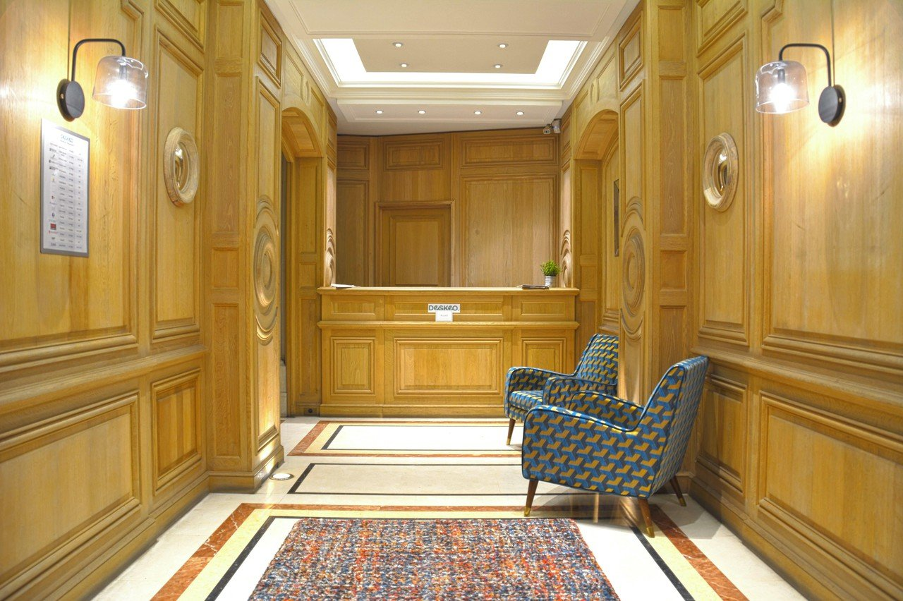 Paris training rooms Salle de réunion Hausmann 201 image 0