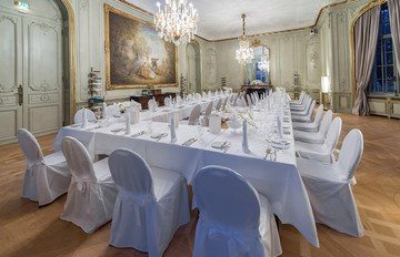 Berlin seminar rooms Restaurant Schlosshotel im Grünewald - Musikzimmer image 11