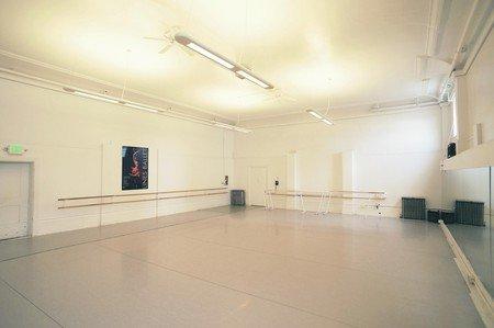 San Francisco workshop spaces Besonders Alonzo Kings LINES Ballet Studio 3 image 0