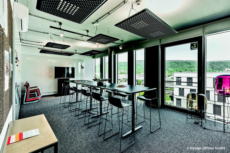 Mannheim Trainingsräume Salle de réunion Design Offices Heidelberg Colours Meet & Move Room I image 0