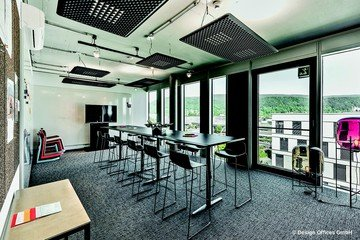 Mannheim Trainingsräume Meeting room Design Offices Heidelberg Colours Meet & Move Room I image 0