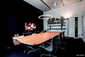 Mannheim workshop spaces Salle de réunion Design Offices Heidelberg Colours Fireside Room I image 1
