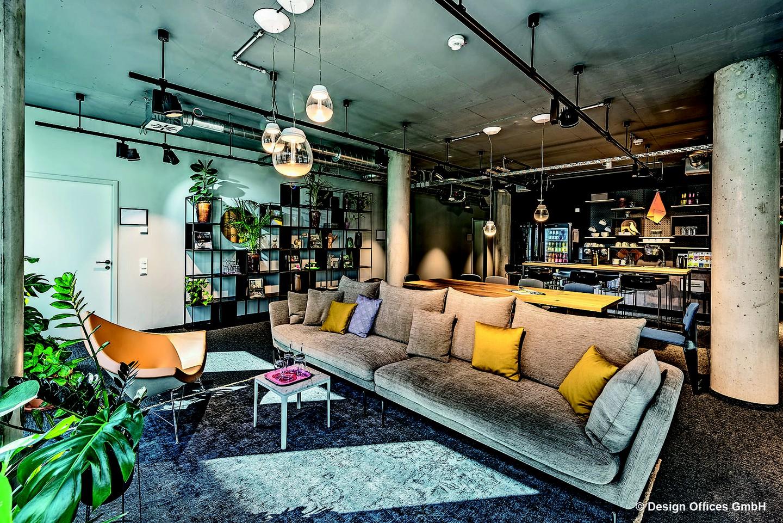 Mannheim Seminarräume Salle de réunion Design Offices Heidelberg Colours Coworking Lounge image 2