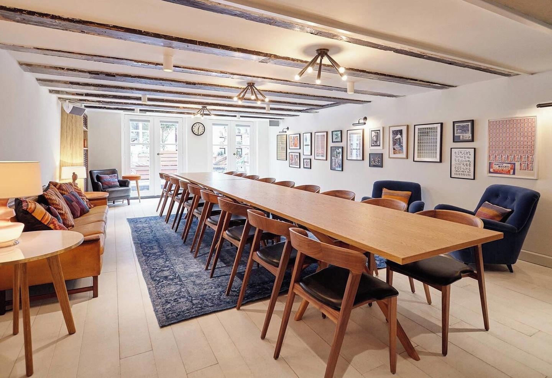Amsterdam workshop spaces Salle de réunion The Hoxton, Amsterdam - living room image 0