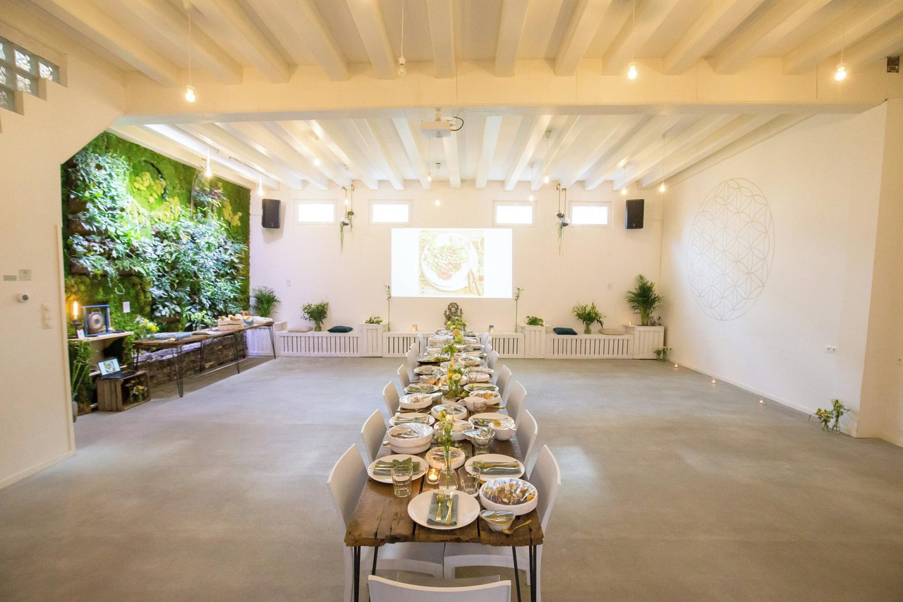 Amsterdam training rooms Espace vert The Green Temple image 0