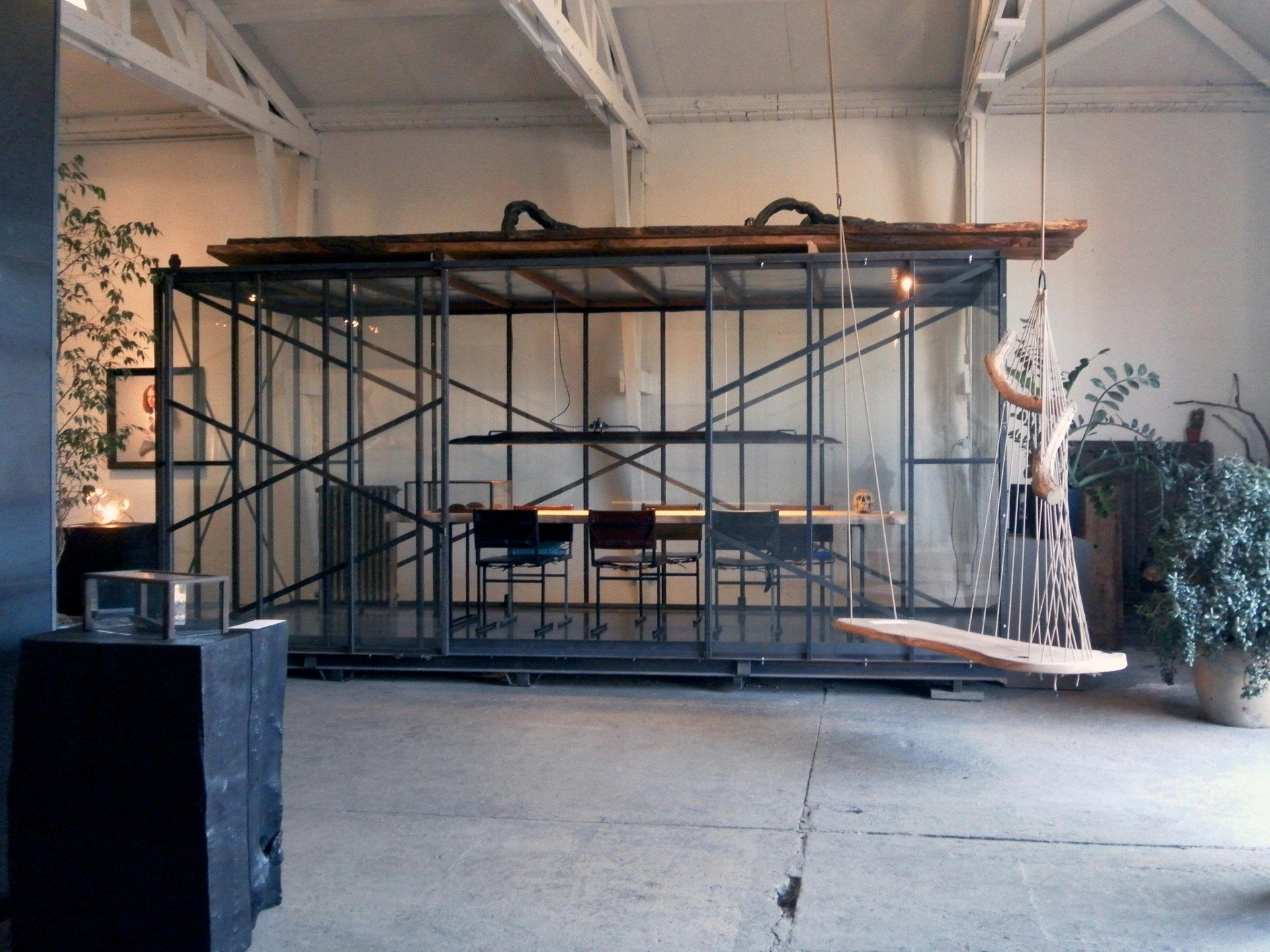 Amsterdam  Salle de réunion Meeting cage image 1