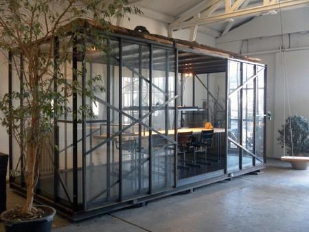 Amsterdam  Salle de réunion Meeting cage image 3