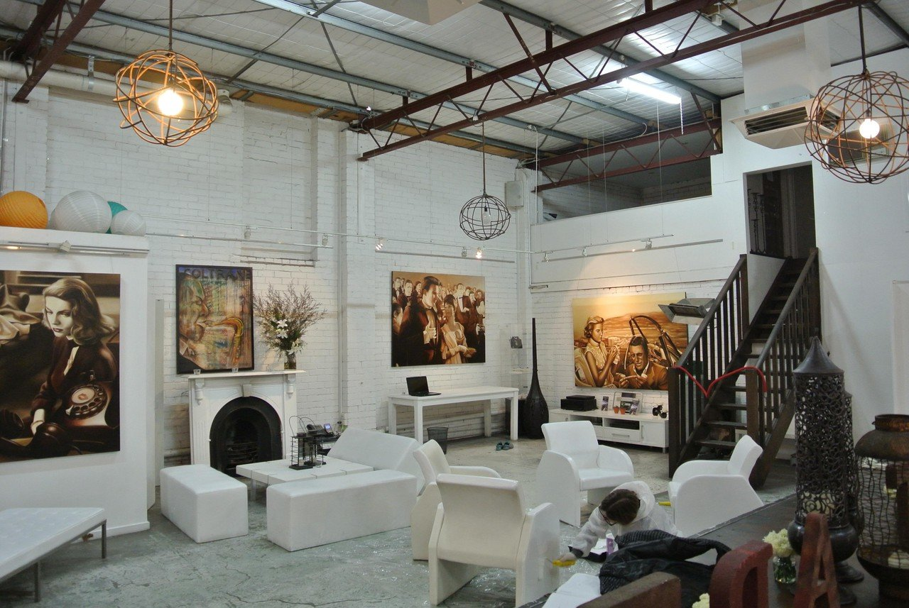Melbourne workshop spaces Industrial space SmartArtz Gallery image 12