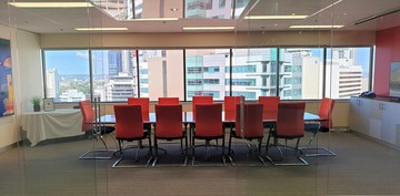 Brisbane conference rooms Meeting room BSPACE Brisbane - Glass Walled Conf image 2