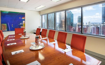 Brisbane conference rooms Meetingraum BSPACE Brisbane - Glass Walled Conf image 3