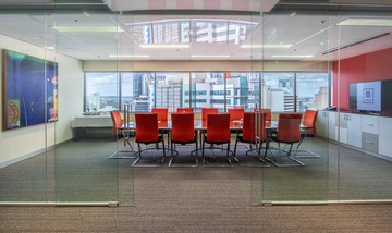 Brisbane conference rooms Meetingraum BSPACE Brisbane - Glass Walled Conf image 1