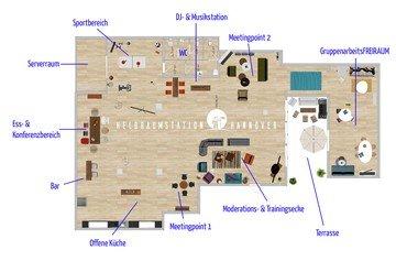 Hannover  Salle de réunion Heldraumstation image 5