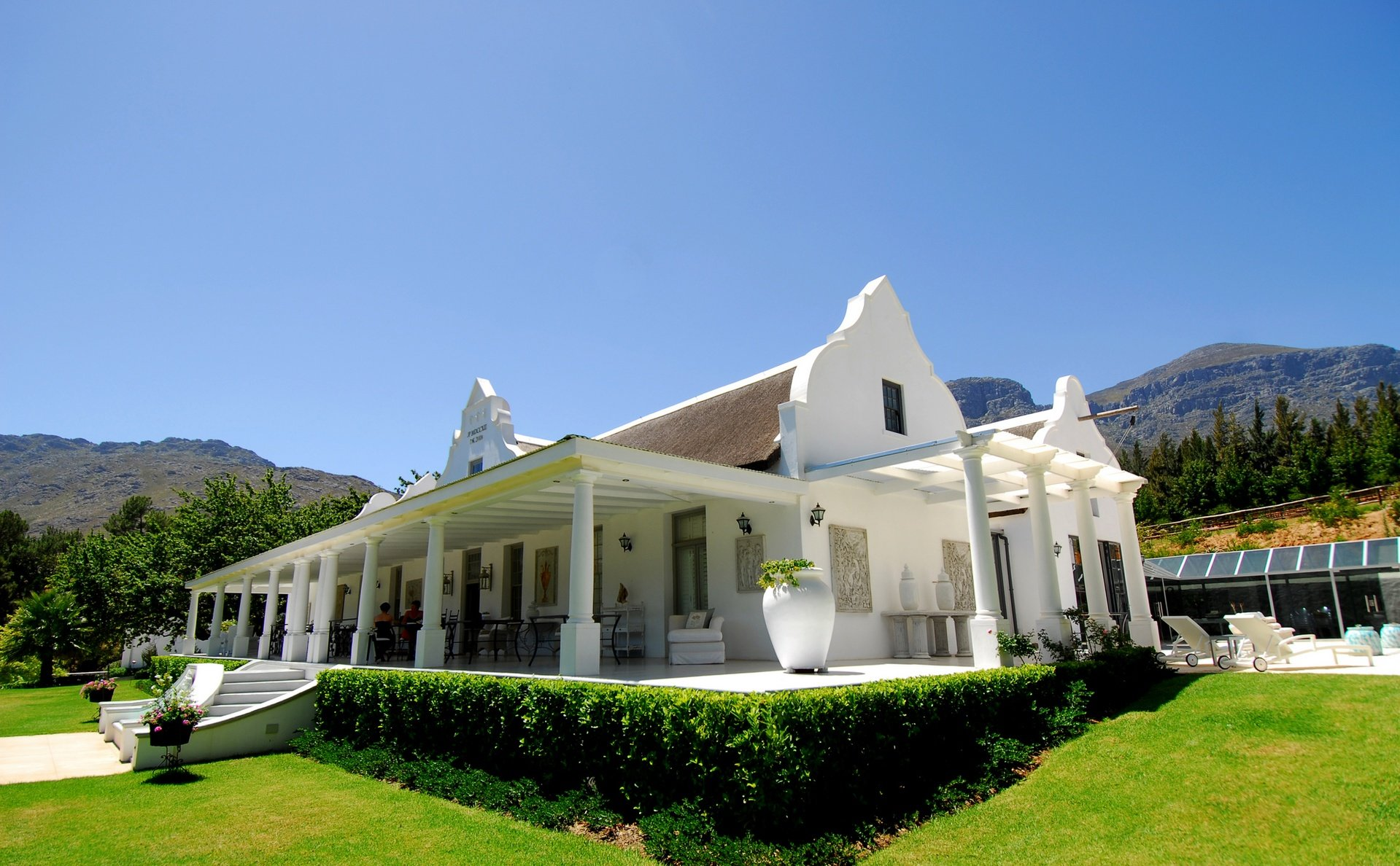 Cape Town corporate event venues Green space Grand Dédale image 0
