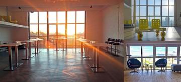 Düsseldorf Seminarräume Lieu industriel SKYBOX image 8