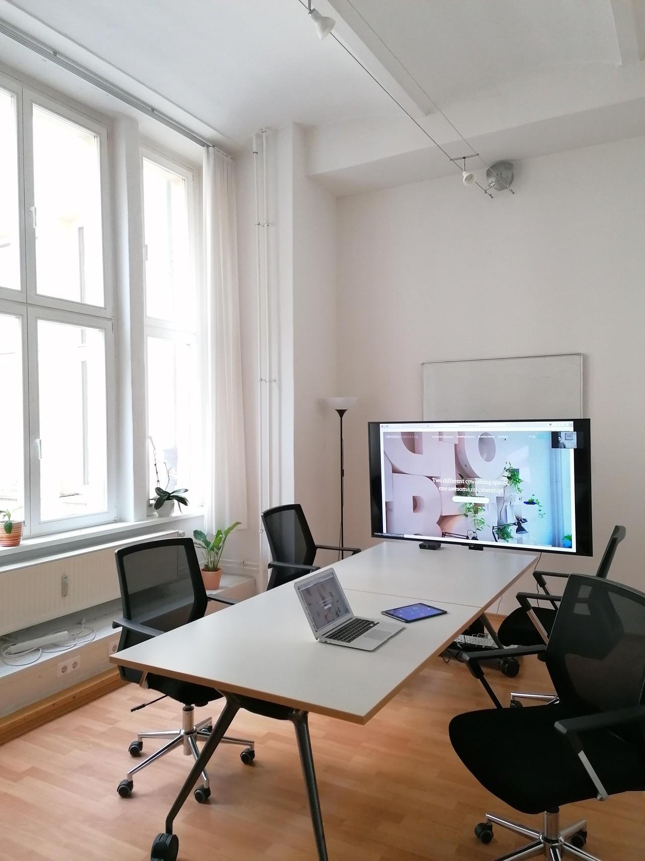 Berlin workshop spaces Meetingraum Zoom Room