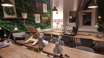 Berlin  Coworking Space MietWerk Potsdam  #City #Jungle image 0