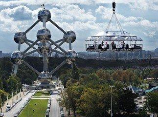 Hamburg corporate event venues Unusual Lounge in the sky image 0