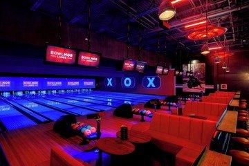 Rest der Welt corporate event venues Partyraum Bowlmor Chelsea Piers image 0