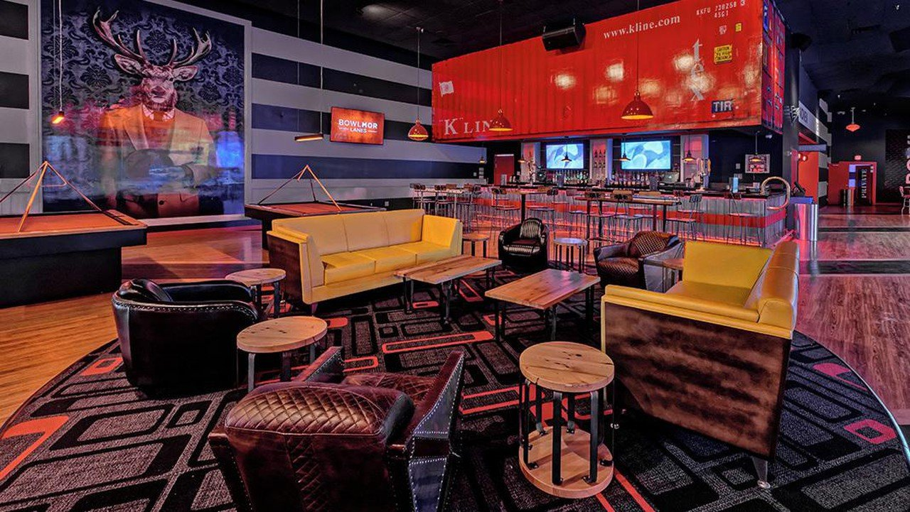 Rest der Welt corporate event venues Partyraum Bowlmor Dallas Lanes 571 (CA) image 1