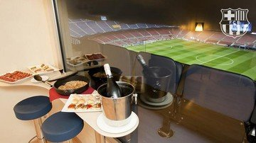 Barcelona  Historische Gebäude VIP Box at Camp Nou (Match-Day only) image 1
