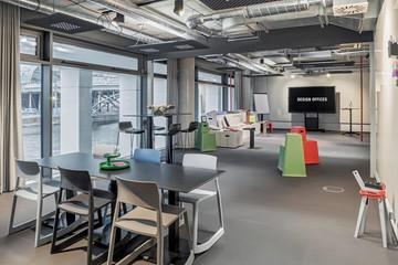 Berlin training rooms Salle de réunion Design Offices Berlin Humboldthafen Training Room I + II image 9