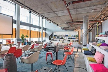 Berlin Schulungsräume Salle de réunion Design Offices Berlin Humboldthafen Work Lab image 1